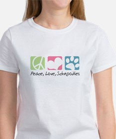 Peace, Love, Schnoodles Tee