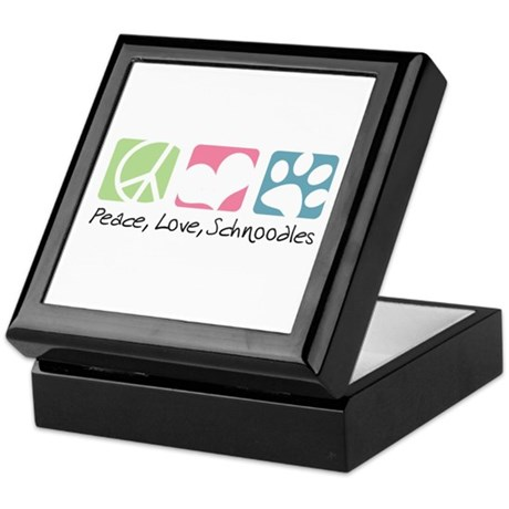 Peace, Love, Schnoodles Keepsake Box