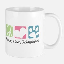 Peace, Love, Schnoodles Mug
