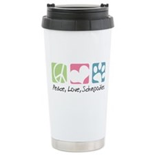 Peace, Love, Schnoodles Travel Mug