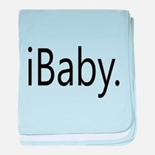 Funny Apple iBaby baby blanket