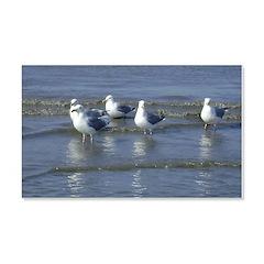 Seagull Heaven 22x14 Wall Peel