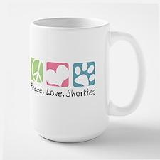 Peace, Love, Shorkies Mug