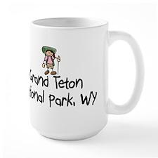 Hike Grand Teton (Girl) Mug