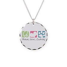 Peace, Love, Zuchons Necklace