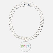 Peace, Love, Zuchons Bracelet