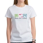 Peace, Love, Zuchons Women's T-Shirt