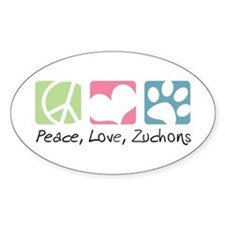 Peace, Love, Zuchons Decal
