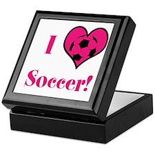Iheartsoccer Keepsake Box