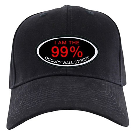 I am the 99% | Occupy Wall Street black cap