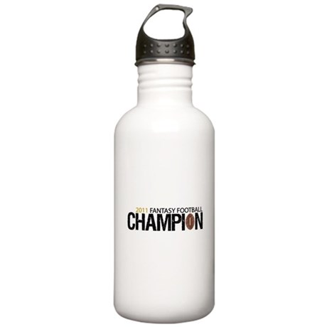 2011 Fantasy Football Champ Stainless Water Bottle
