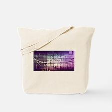 Futuristic Abstrac Tote Bag