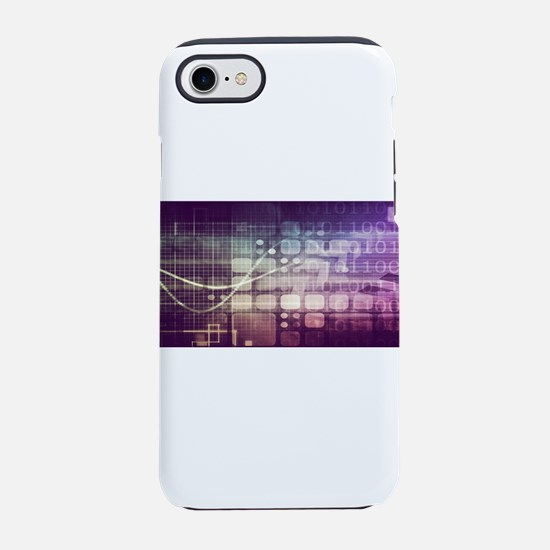 Futuristic Abstrac iPhone 7 Tough Case