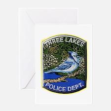 Three Lakes Police Greeting Card