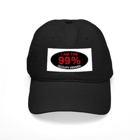 I am the 99% | Occupy Denver Black Cap