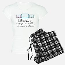 Literacy Reading Quote Pajamas