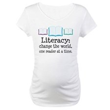 Literacy Reading Quote Shirt