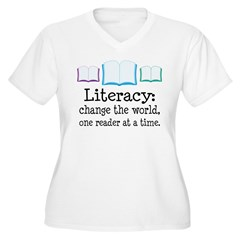 Literacy Reading Quote T-Shirt