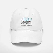 Literacy Reading Quote Baseball Baseball Cap