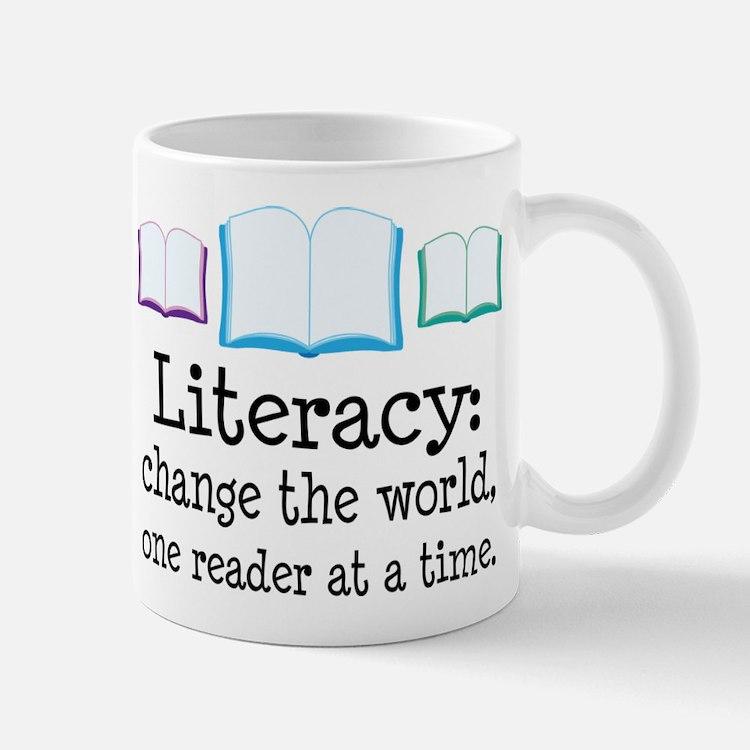 Literacy Reading Quote Mug