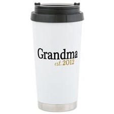 New Grandma Est 2012 Travel Mug