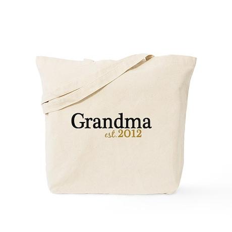 New Grandma Est 2012 Tote Bag