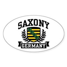Saxony Germany Decal