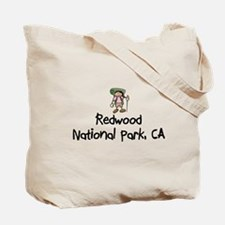 Hike Redwood Nat Park (Girl) Tote Bag