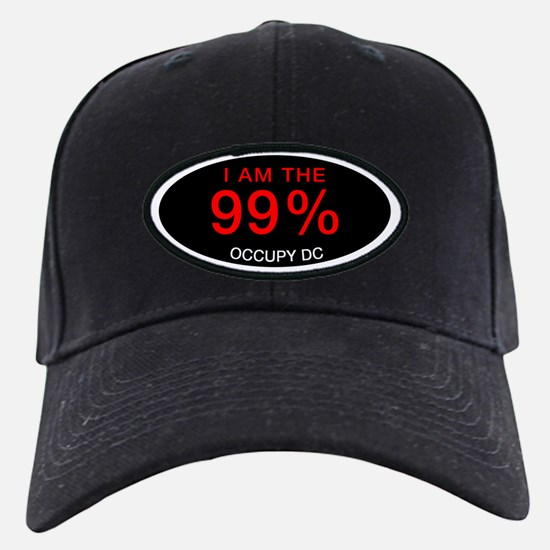 I am the 99%   Occupy DC Baseball Hat