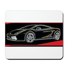 Lamborghini Glow Mousepad
