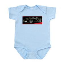 Lamborghini Glow Infant Bodysuit