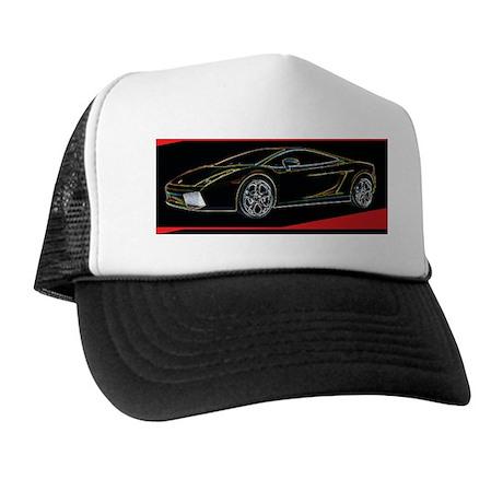 Lamborghini Glow Trucker Hat