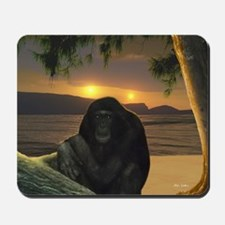 First Contemplation Mousepad