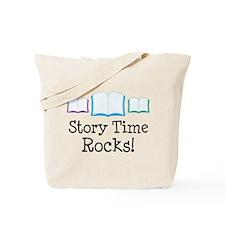 Story Time Rocks Tote Bag