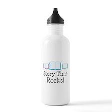 Story Time Rocks Water Bottle