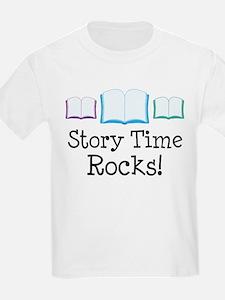 Story Time Rocks T-Shirt