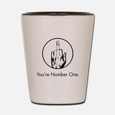 You're Number One. Shot Glass
