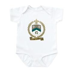 SANSFACON Family Crest Infant Creeper