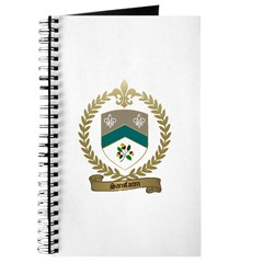 SANSFACON Family Crest Journal