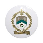 SANSFACON Family Crest Ornament (Round)