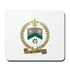 SANSFACON Family Crest Mousepad