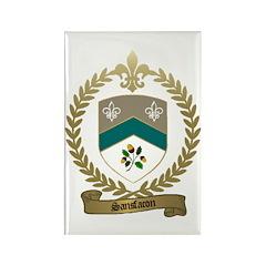 SANSFACON Family Crest Rectangle Magnet (10 pack)