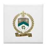 SANSFACON Family Crest Tile Coaster
