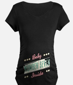 Baby Number 7 Inside T-Shirt