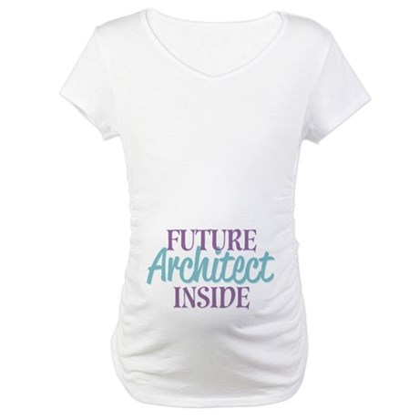 Future Architect Inside Maternity T-Shirt