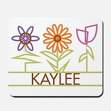 Kaylee with cute flowers Mousepad