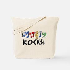Music Rocks! Tote Bag