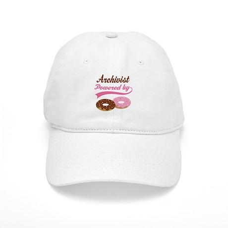 Archivist Gift Doughnuts Cap