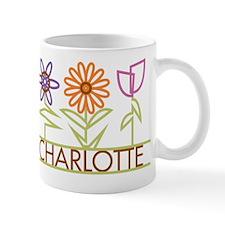 Charlotte with cute flowers Mug