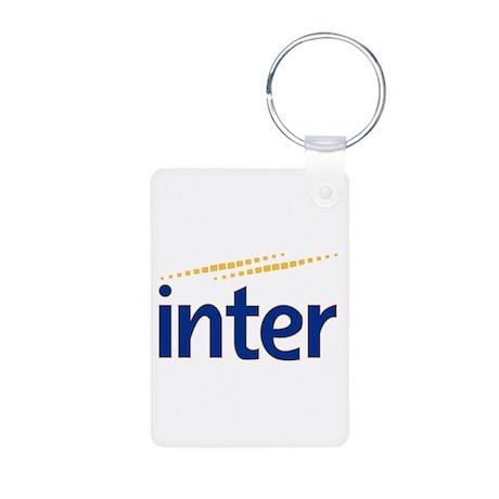 Inter milan Aluminum Photo Keychain